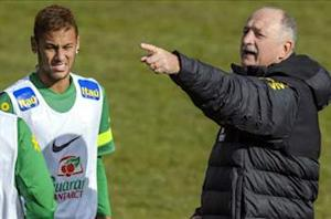 Scolari admits Neymar talks with Rosell