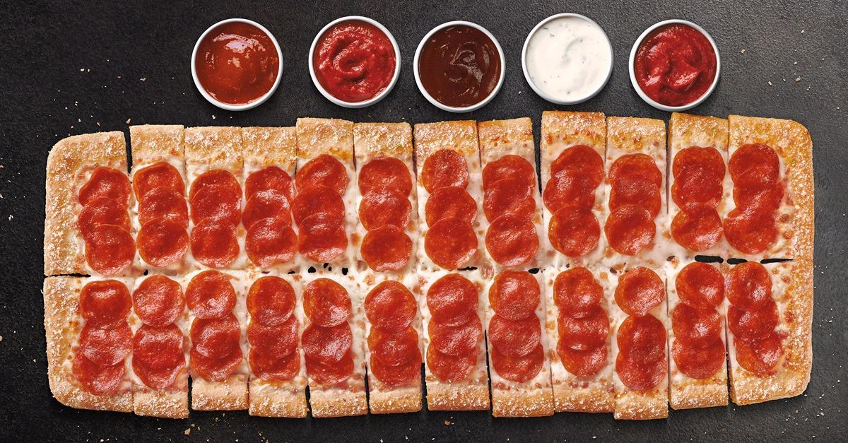 Gather around and dip in with Pizza Hut