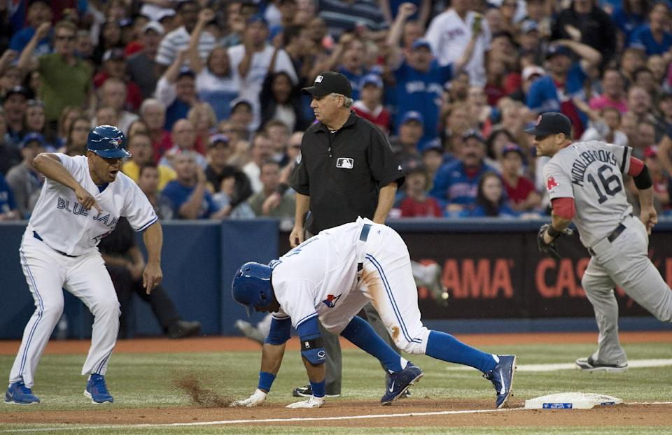 Lawrie has winning hit, Blue Jays beat Red Sox