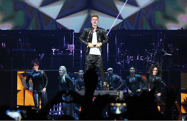Justin Bieberkicks off the start of his Believe tour at the Jobing Arena with support from Carly Rae Jepsen and Cody Simpson. The 18-year-old pop star battled illness during the show and vomited on st