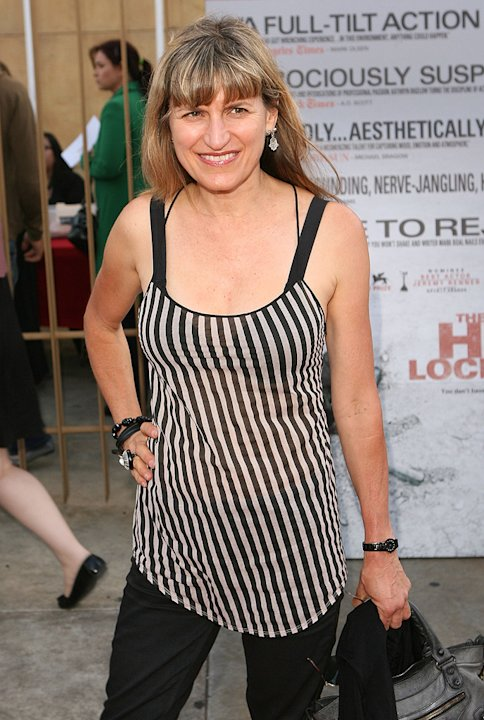 The Hurt Locker Premiere 2009 Catherine Hardwicke