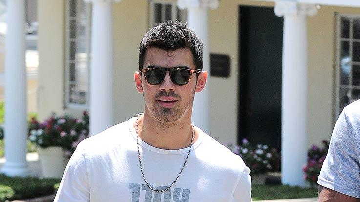 Joe Jonas Sunset Plaza