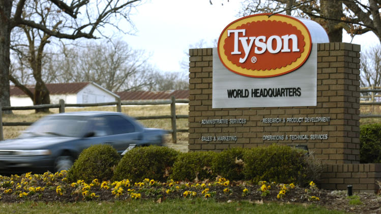Arkansas-based Tyson to audit treatment of animals
