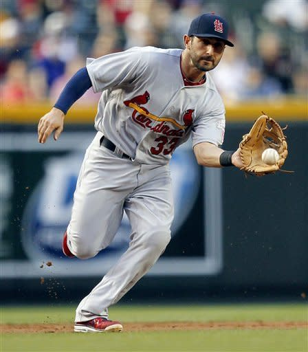 Beltran's 2 HRs, 6 RBIs lead St. Louis to 6-1 win
