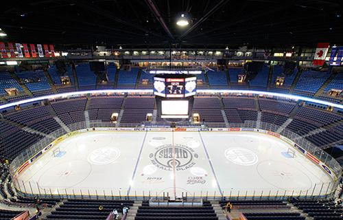 Edmonton Oilers' NHL arena, Rexall Place Getty Images