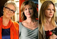 Jamie Lee Curtis, Christine Lahti, Jennifer Jason Leigh | Photo Credits: Ray Mickshaw/FOX; Norman Shapiro/CBS; Eric McCandless/ABC