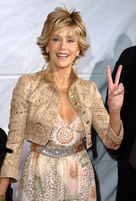 Jane Fonda at the Westwood premiere of New Line Cinema's Monster-In-Law