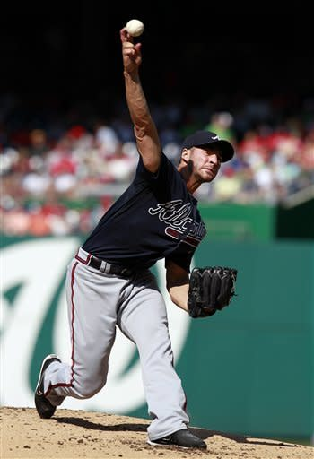 Strasburg's scoreless 7 leads Nats over Braves