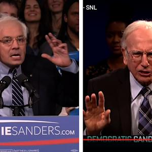 Jimmy Fallon's Bernie Sanders Impression Is Maybe Better Than Larry David's