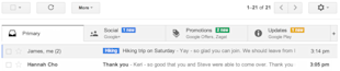 Gmail Gets More Organized image Gmail Desktop Upgrade