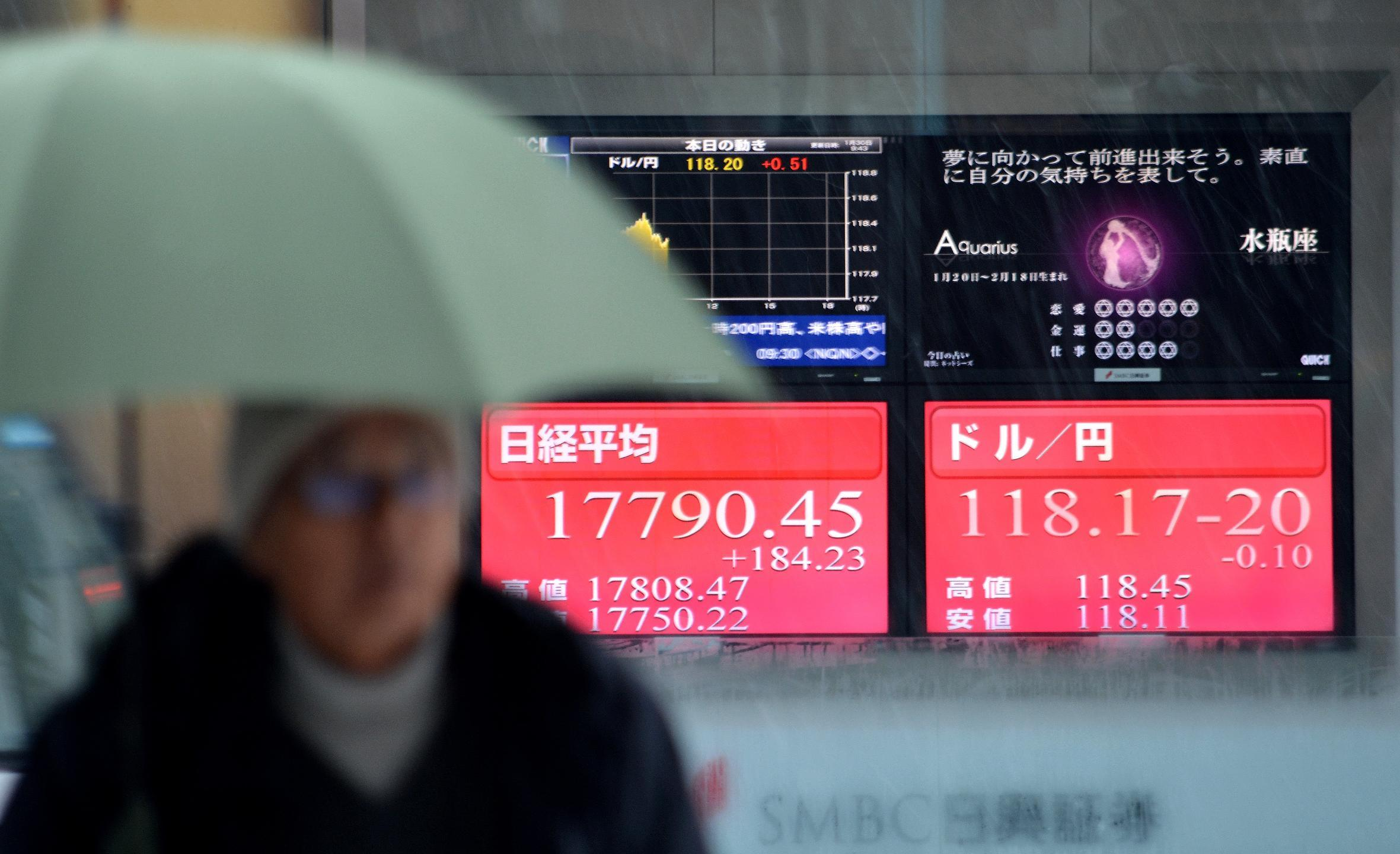Asian shares mixed after Japan inflation slows