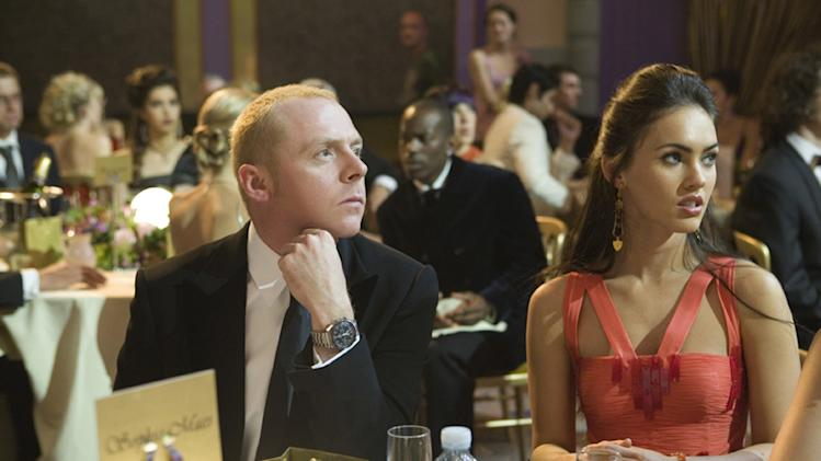 Simon Pegg Megan Fox How to Lose Friends and Alienate People Production Stills MGM 2008