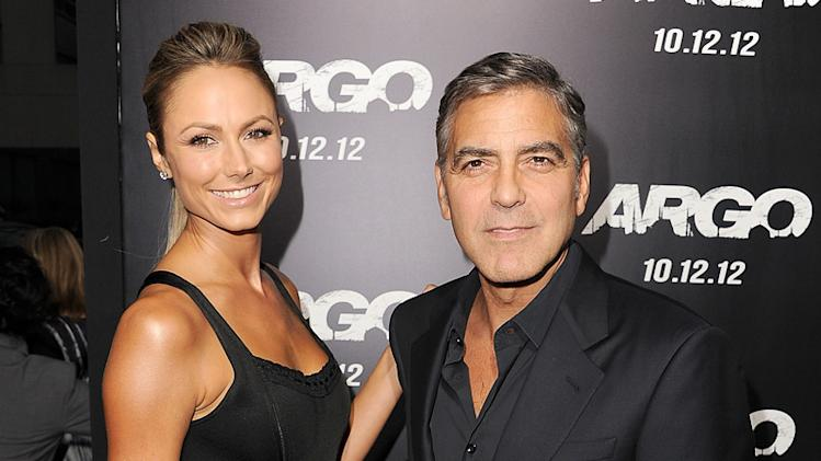 Stacy Keibler, George Clooney