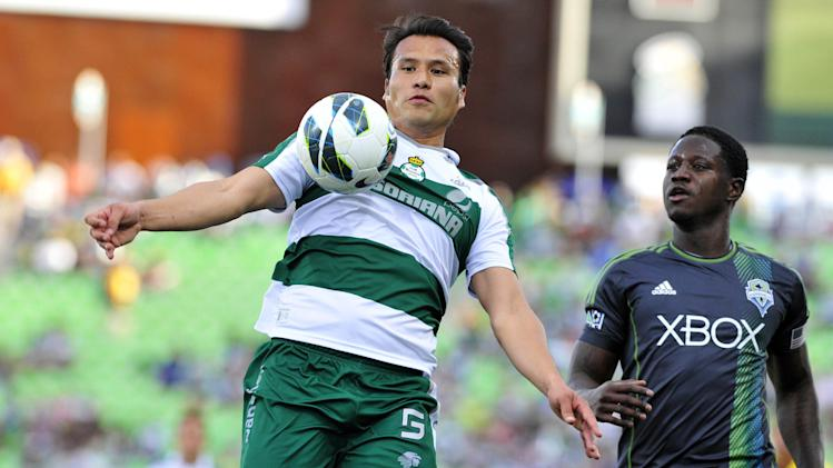 MLS: Champions League-Seattle Sounders at Santos Laguna