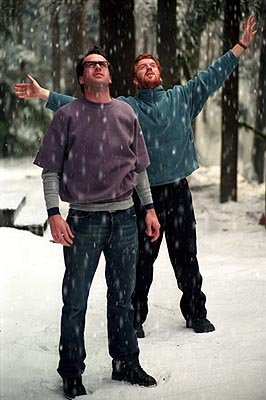 Jason Lee and Damian Lewis in Warner Brother's Dreamcatcher