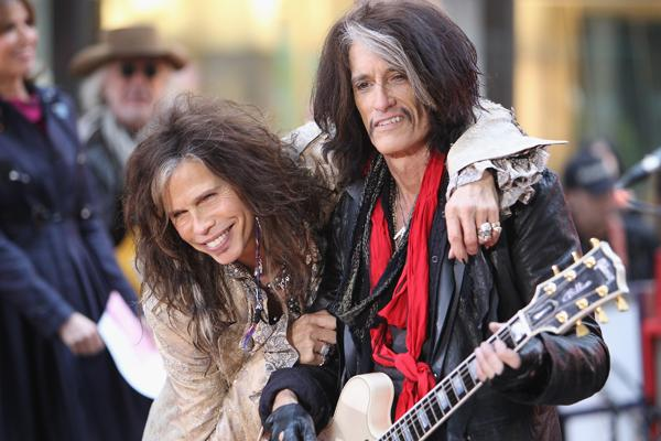Steven Tyler and Joe Perry Picked for Songwriters Hall of Fame