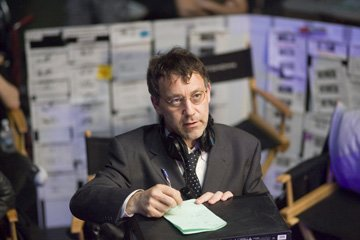 Director Sam Raimi on the set of Columbia Pictures' Spider-Man 3