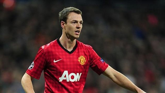Jonny Evans has won three Premier League titles at Manchester United