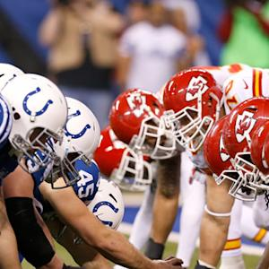 Are the Indianapolis Colts or Kansas City Chiefs more likely to repeat last season's success?