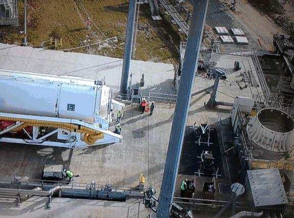 New Private Rocket Arrives at Virginia Launch Pad for Tests