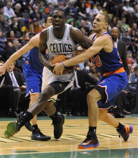 Celtics rally from 20 down, beat Knicks in Albany