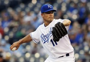 Guthrie solid again as Royals top Twins 7-4