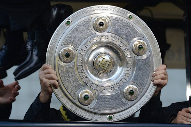 A Player Of German Soccer Champions AFP/Getty Images