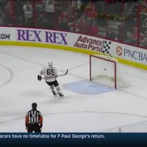 Blackhawks at Hurricanes / Game Highlights