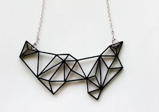 Prism and Triangles Necklace