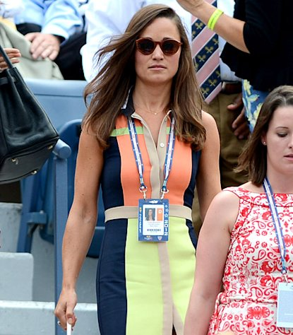 Stylish Pippa Middleton Attends U.S. Open in New York City