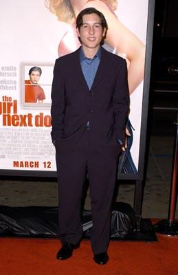 Chris Marquette at the LA premiere of 20th Century Fox's The Girl Next Door