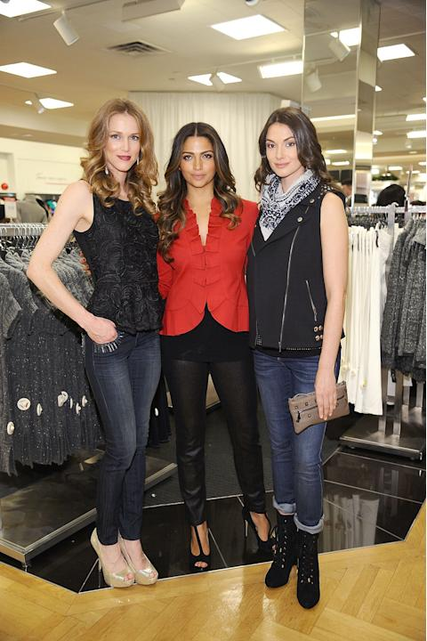 I.N.C. International Concepts Fashion Presentation Hosted By Camila Alves And Ramshackle Glam's Jordan Reid