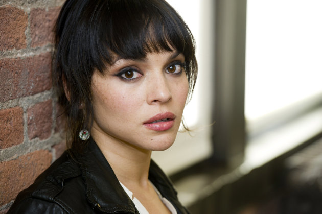 In this April 9, 2012 photo, singer Norah Jones poses for a portrait in New York. Jones&#39; latest album, &quot;Little Broken Hearts,&quot; was released on May 1. (AP Photo/Charles Sykes)