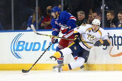 NHL scores 2015: Frustration settles in for Nashville with 3-0 loss to New York