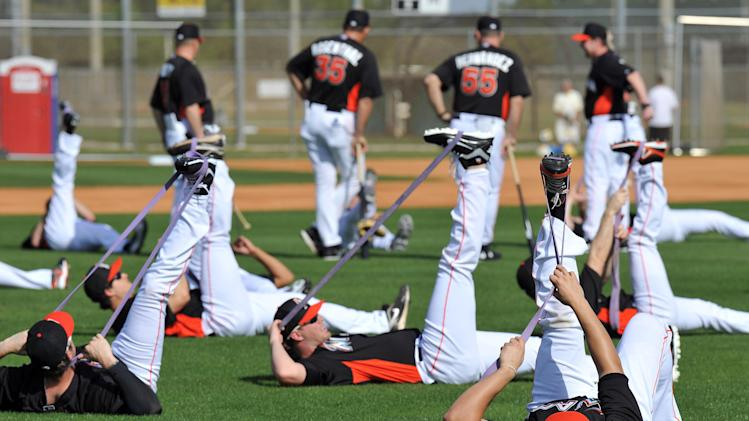 MLB: Miami Marlins-Pitchers & Catchers
