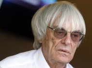 Formula One supremo Bernie Ecclestone is seen after the qualifying session of the Monaco F1 Grand Prix May 25, 2013.     REUTERS/Stefano Rellandini  (MONACO - Tags: SPORT MOTORSPORT F1 HEADSHOT)