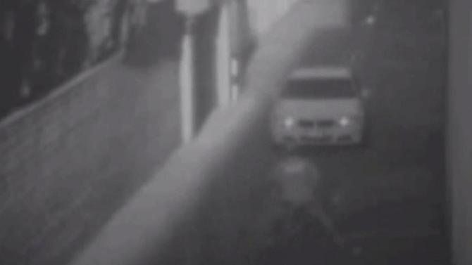 Road-rage attack caught on camera: BMW driver hits bicyclist in Beverly Hills