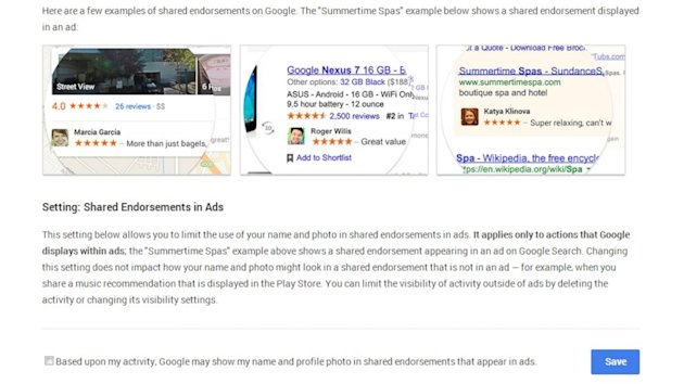 How to Opt Out of Google Policy That Displays Your Photo Beside Ads (ABC News)