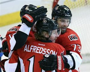 Silfverberg scores 2 in Sens' 4-1 win over Jets