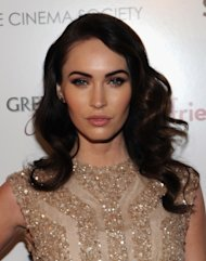 Megan Fox attends the Cinema Society & People StyleWatch with Grey Goose screening of 'Friends With Kids' at the SVA Theater, New York City, on March 5, 2012 -- Getty Images