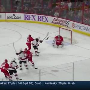 Cam Ward Save on Tuomo Ruutu (12:45/3rd)