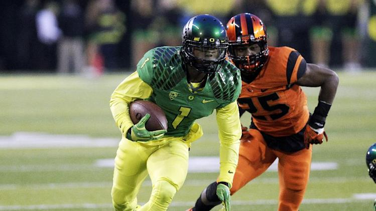 No. 12 Ducks edge Beavers 36-35 in the Civil War