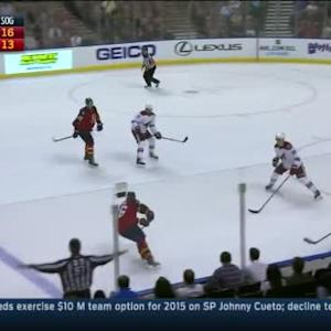 Mike Smith Save on Scottie Upshall (14:21/2nd)