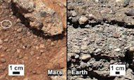 Rover Finds Evidence Of Stream On Red Planet