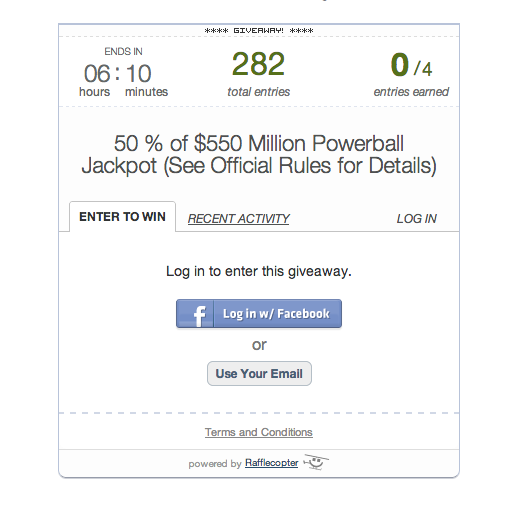 Radio Stations Offering to Split Powerball Winnings With Facebook Fans