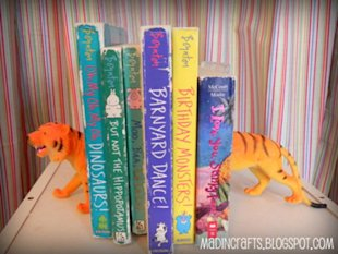 Zootastic Bookends