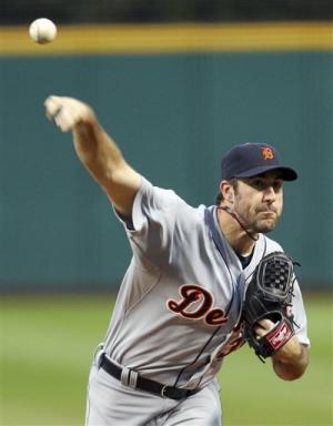 Verlander on target as Tigers beat Indians 4-0