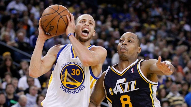 NBA: Utah Jazz at Golden State Warriors