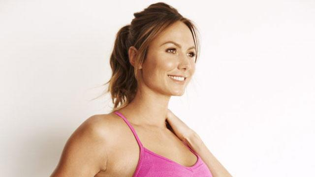 How Stacy Keibler Got Her Abs Back Four Months After Giving Birth