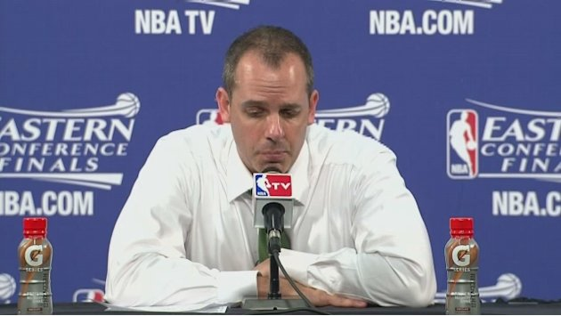 Vogel on loss to the Heat in game one